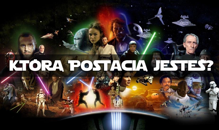 Jaką postacią jesteś z gwiezdnych wojen ?