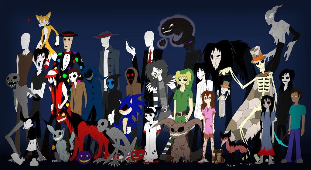 Którą postać z creepypasty przypominasz najbardziej?