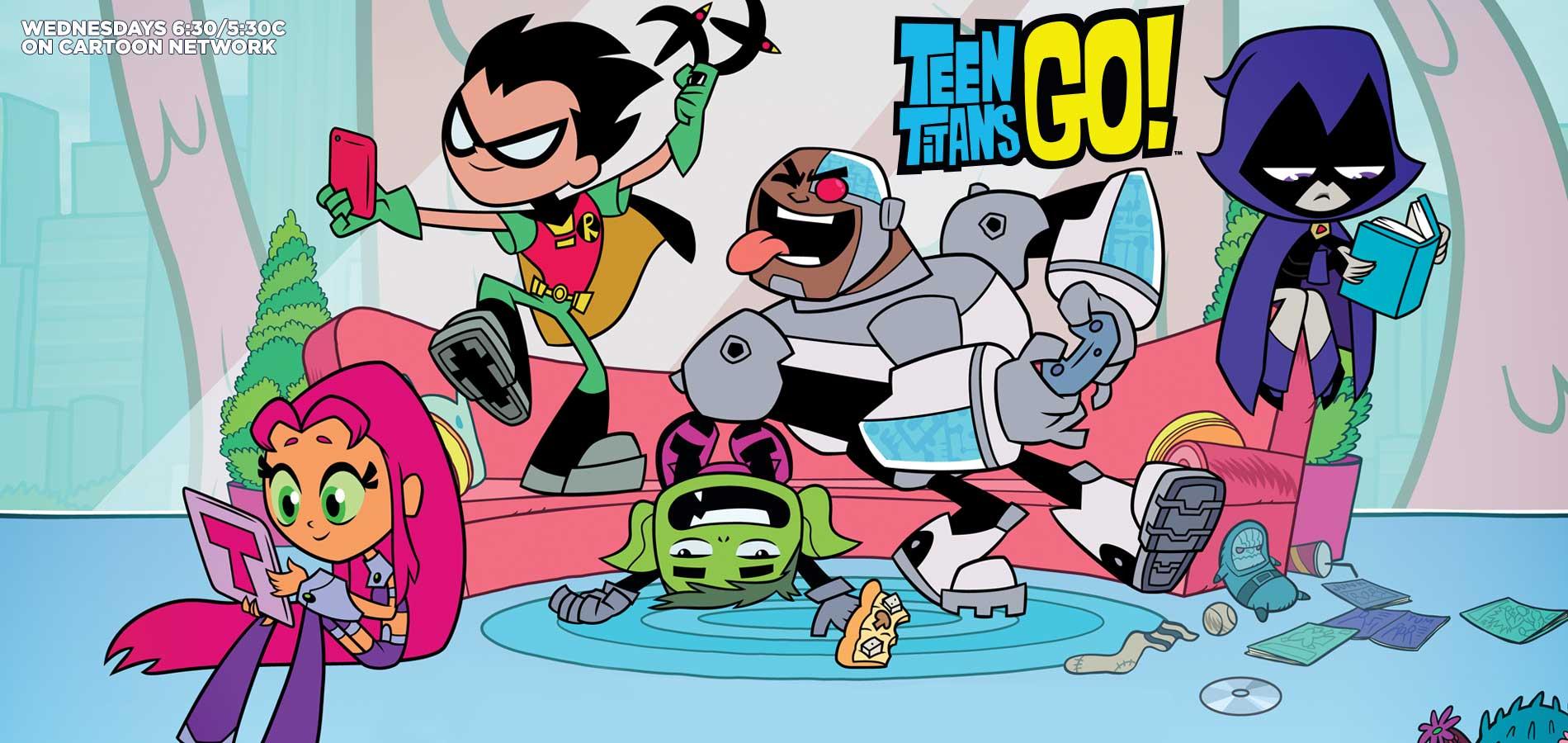 Którą postacią z Teen titans jesteś