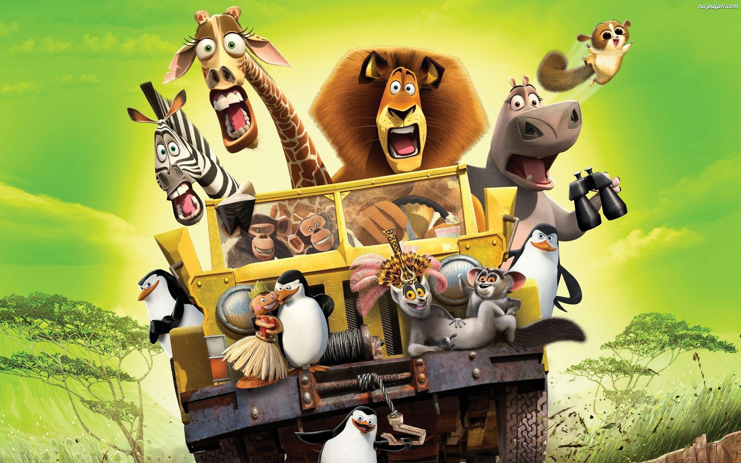 Którą postacią z Madagaskaru jesteś?