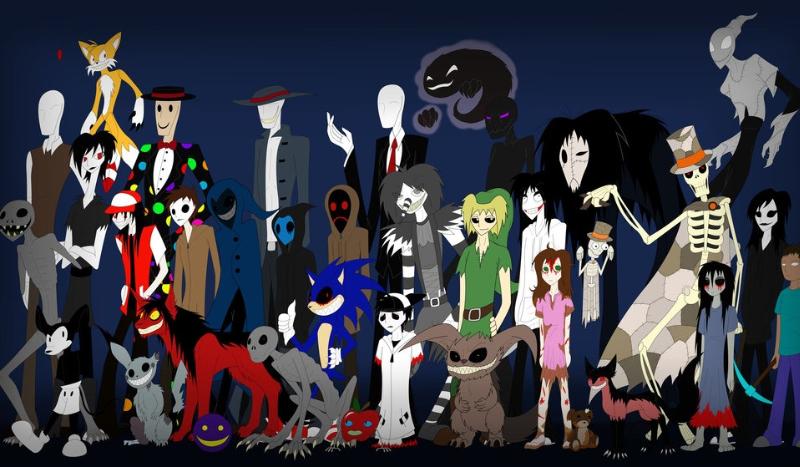 Z którą postacią z Creepypasta zaprzyjaźniłbyś się?