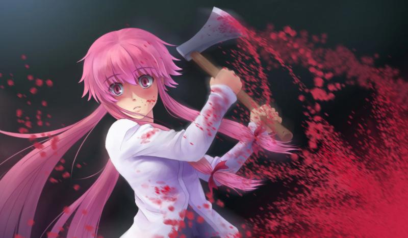 Jak dobrze znasz anime Mirai Nikki?