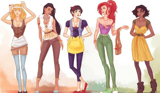 Jaką księżniczką Disneya z dzisiejszych czasów jesteś?