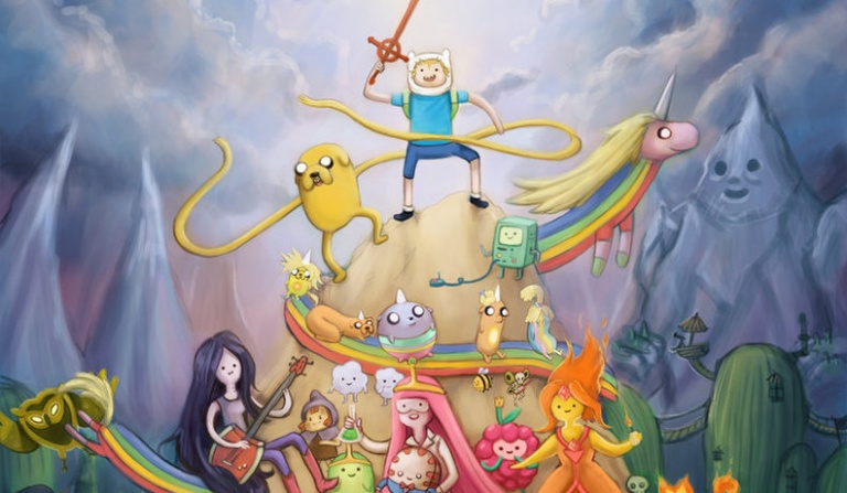 """Kim z """"Adventure Time"""" jesteś?"""