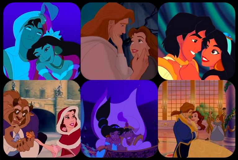 Która para z Disneya opisuje Ciebie i Twojego partnera?