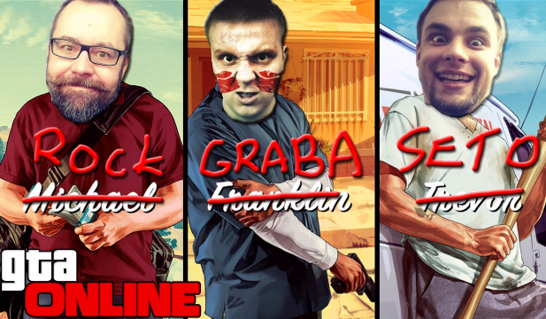 """Który Youtuber z Ekipy ,,GTA Online"""" jest do Ciebie najbardziej podobny?"""