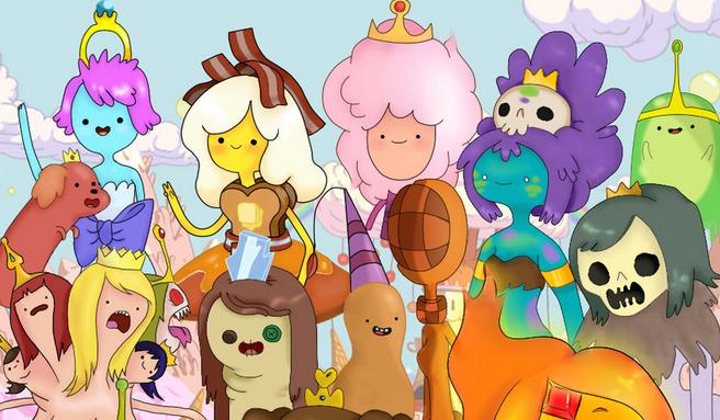 Którą Królewną z Adventure Time jesteś?