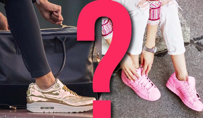 Które buty sportowe bardziej Ci się podobają?