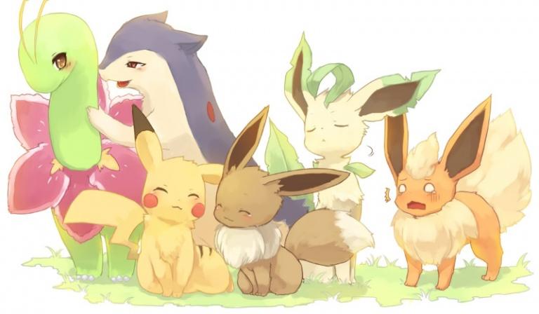 Który z uroczych pokemonów będzie należał do Ciebie?