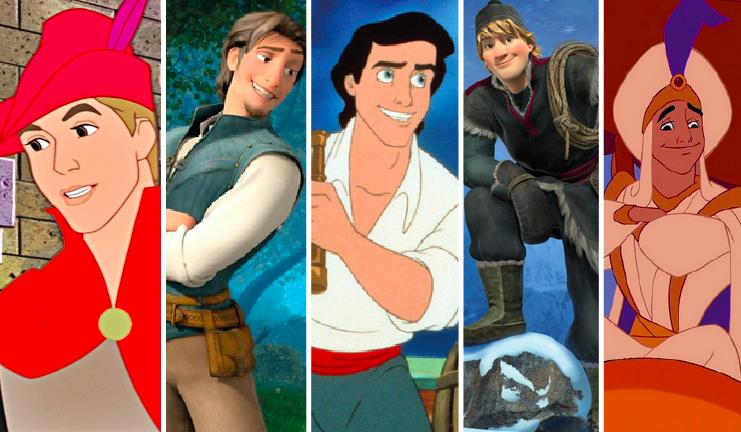 Która męska postać z Disneya najbardziej do Ciebie pasuje?
