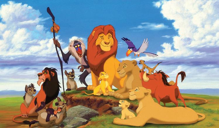 Którą postacią z Króla Lwa jesteś?