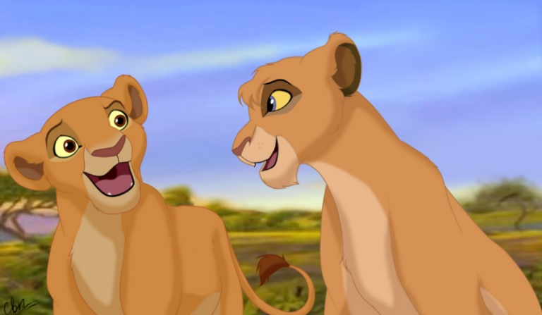 """Bardziej przypominasz Vitani, czy Kiarę z """"Króla Lwa 2""""?"""