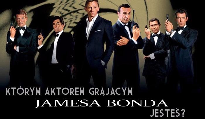 Którym aktorem grającym Jamesa Bonda jesteś?
