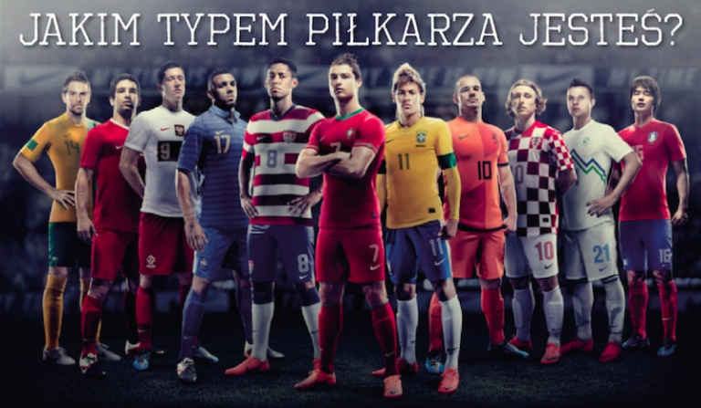 Jakim typem piłkarza jesteś?