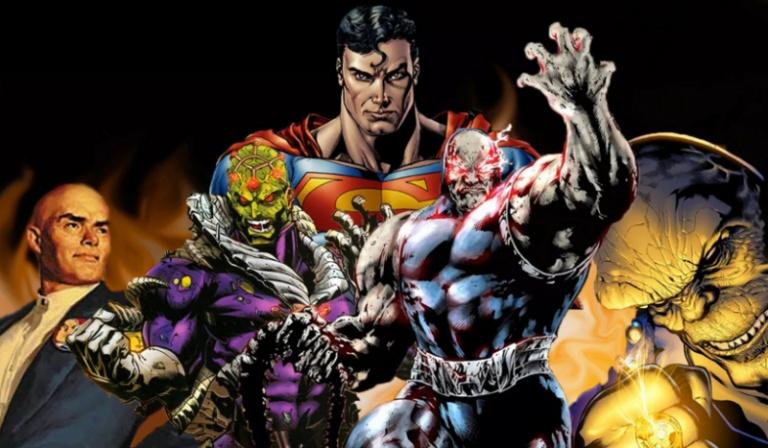 Którym przeciwnikiem Supermana jesteś?