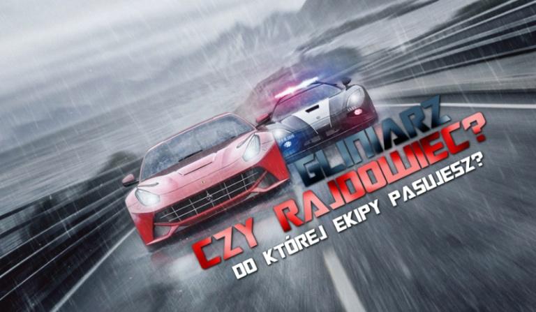 """Pasowałbyś do gliniarza czy do rajdowca z """"Need for Speed: Rivals""""?"""