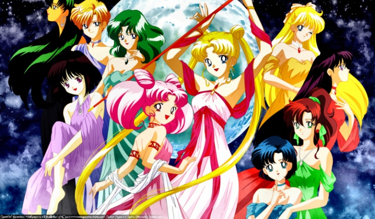 Do której czarodziejki z Sailor Moon jesteś podobna?