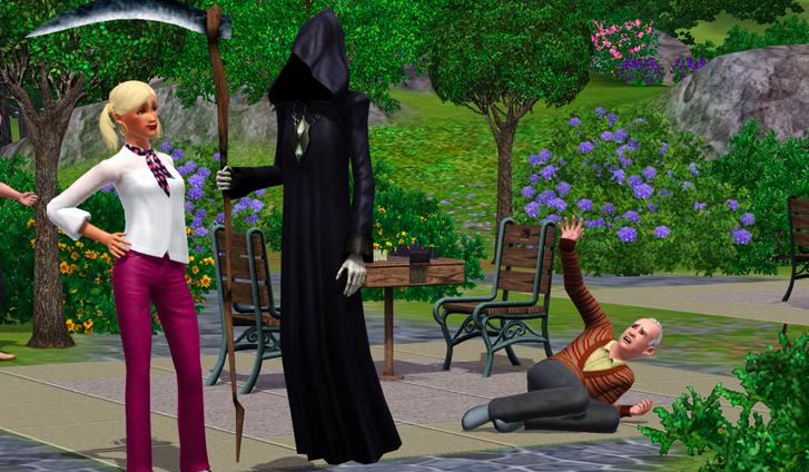 Jaka śmierć spotka Cię w świecie The Sims 3?
