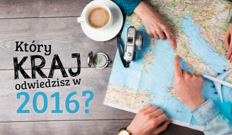 Który kraj powinieneś odwiedzić w roku 2016?