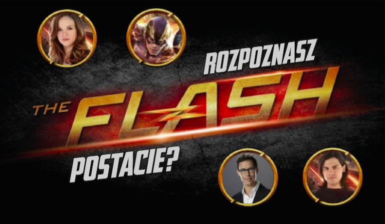 """Czy uda Ci się dopasować wszystkie 25 postaci z serialu """"The Flash"""" do ich zdjęć?"""