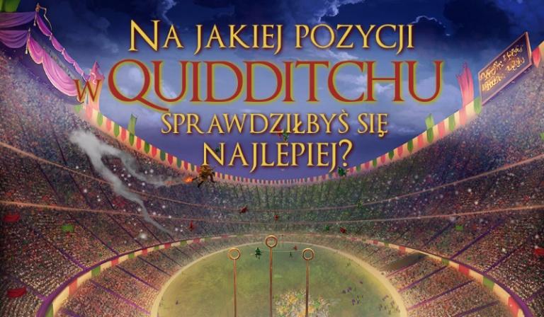 Na jakiej pozycji w Quidditchu sprawdziłbyś się najlepiej?