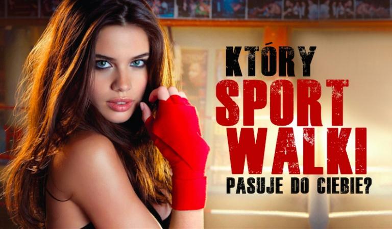 Który sport walki do Ciebie pasuje?