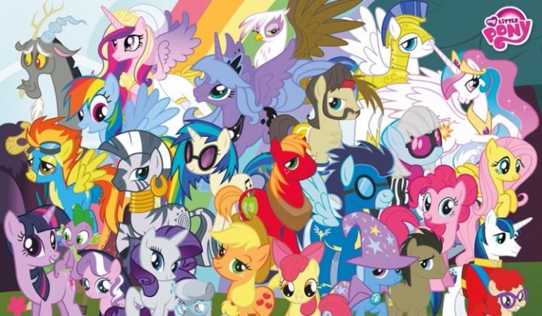 Czy rozpoznasz kucyki z My Little Pony?