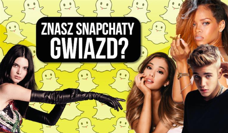 Czy uda Ci się dopasować Snapy gwiazd do ich zdjęć?