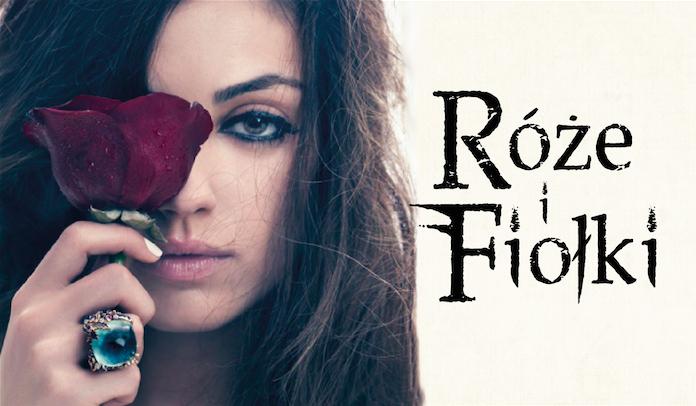 Róże i fiołki