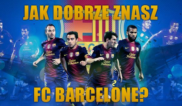 Test wiedzy o FC Barcelonie.