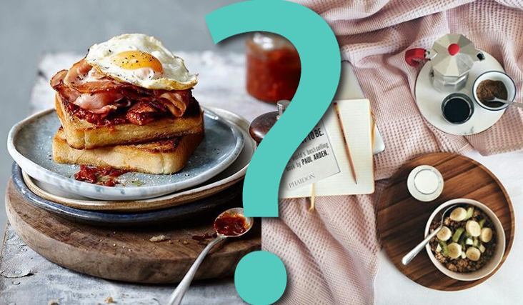 """15 pytań z serii """"Co wolisz?"""" na śniadanie!"""