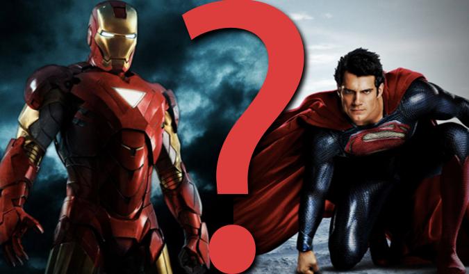 "9 pytań z serii ""Co wolisz?"" z uniwersum Marvela i DC Comics."