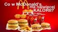 Czy odgadniesz, który produkt z McDonald's ma najwięcej kalorii?