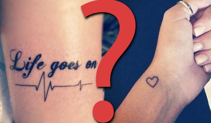 """25 pytań z serii """"Co wolisz?"""" z kategorii tatuaże!"""
