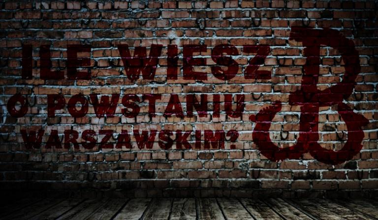 Sprawdź swoją wiedzę o Powstaniu Warszawskim!