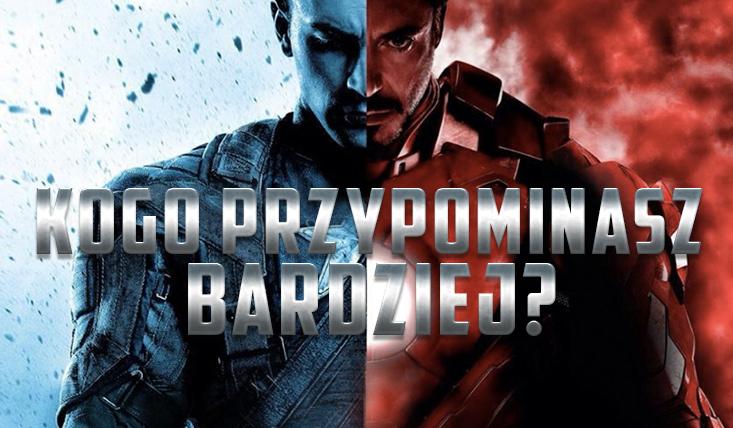 Bardziej przypominasz Kapitana Amerykę czy Iron Mana?