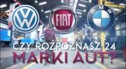 Czy rozpoznasz 24 marki aut?
