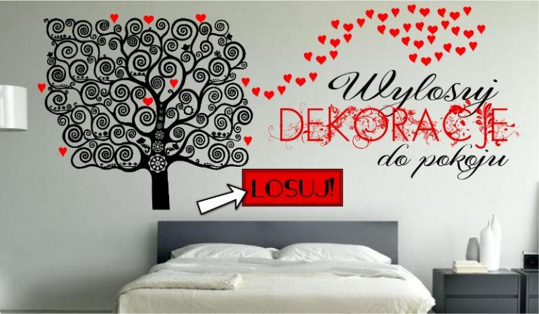 Wylosuj ciekawą dekorację do pokoju!