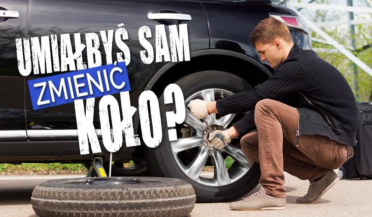 Czy potrafiłbyś wymienić samodzielnie koło w samochodzie?