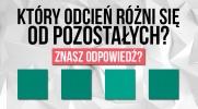 Czy potrafisz odróżniać odcienie kolorów?