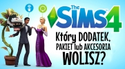 Który dodatek, pakiet rozgrywki lub akcesoria do The Sims 4 wolisz?