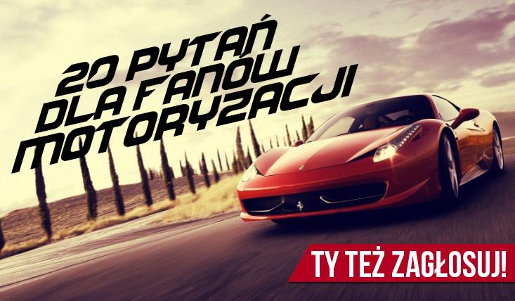 """20 pytań z serii """"Co wolisz?"""" na temat motocykli i samochodów! #1"""