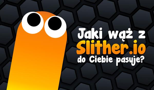 """Jaki wąż z gry """"Slither.io"""" najbardziej do Ciebie pasuje?"""