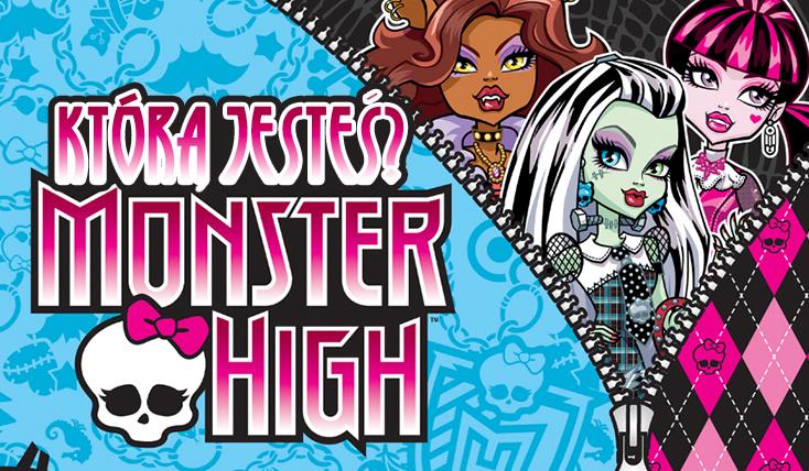 Którą straszyciółkę z Monster High przypominasz najbardziej?