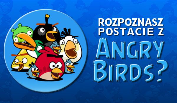 Czy uda Ci się rozpoznać ptaki z Angry Birds?