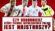 Czy odgadniesz, który piłkarz reprezentacji Polski na Euro 2016 jest najstarszy?
