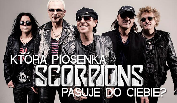 Która piosenka Scorpions najbardziej do Ciebie pasuje?