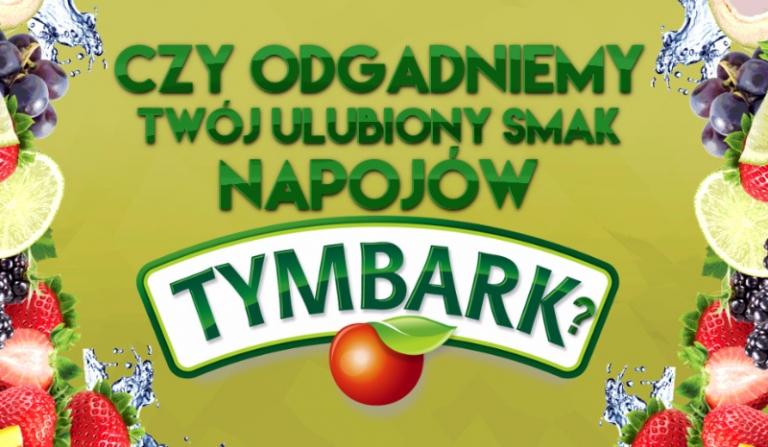 Czy odgadniemy jaki jest Twój ulubiony smak Tymbarka?