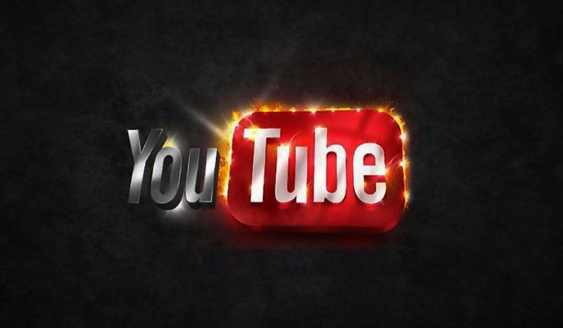 You Tube надпись фон без смс