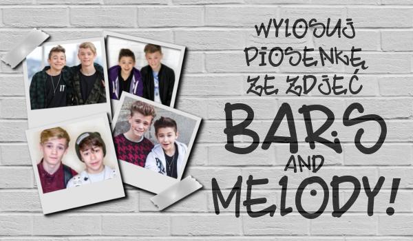 Wybierz zdjęcie Bars and Melody i dowiedz się jakiej ich piosenki powinnaś posłuchać!